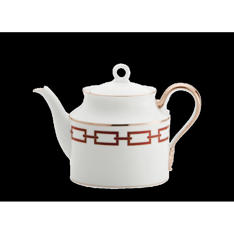Catene Red Tea Pot