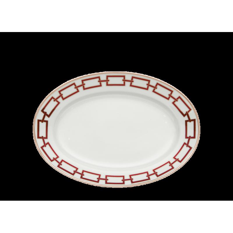 Catene Red Platter