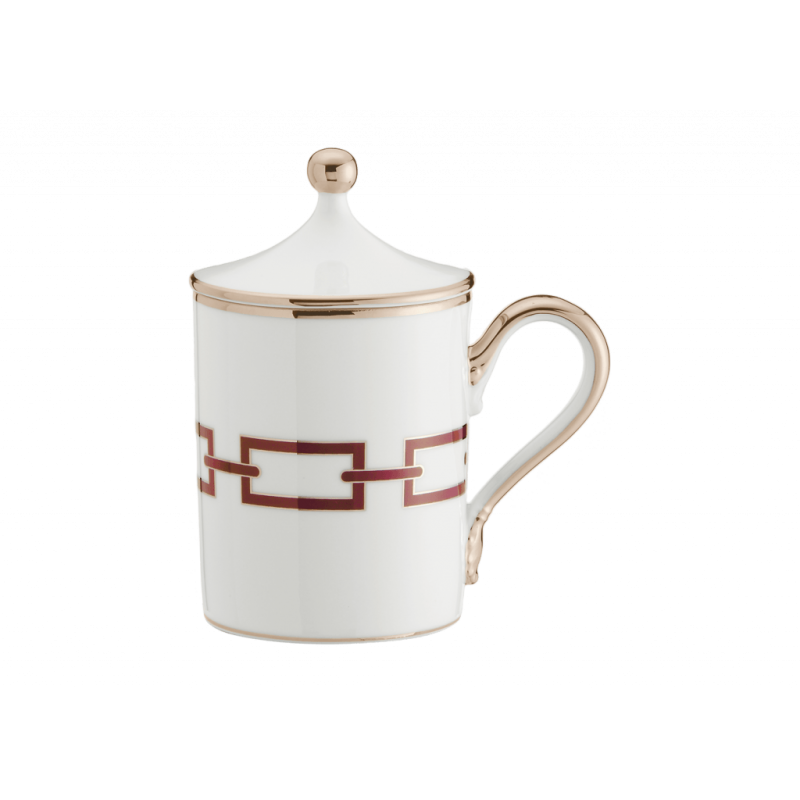 Catene Red Mug - Set of Two