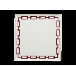 Catene Red Trinket Tray