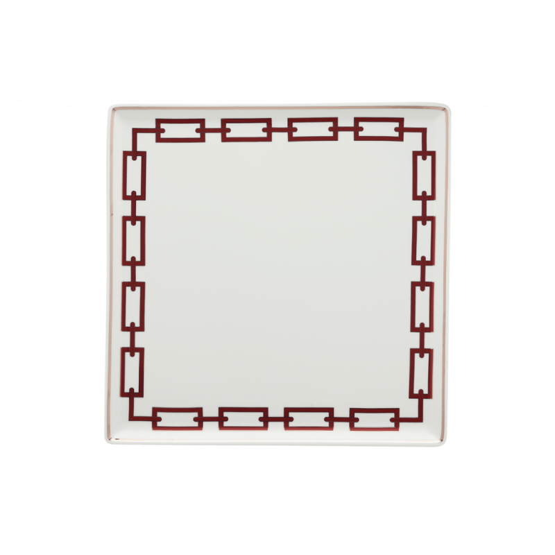 Catene Red Trinket Tray