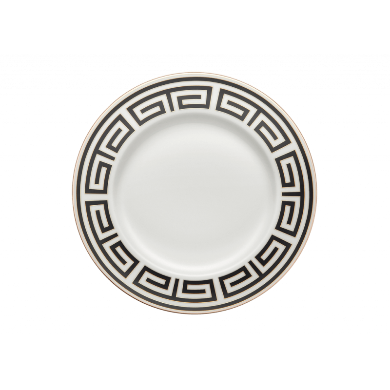 Labirinto Nero Soup Plate, Set of 2
