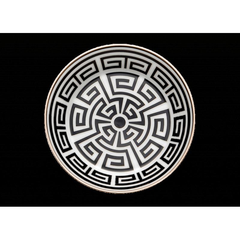 Labirinto Nero Tea Saucer