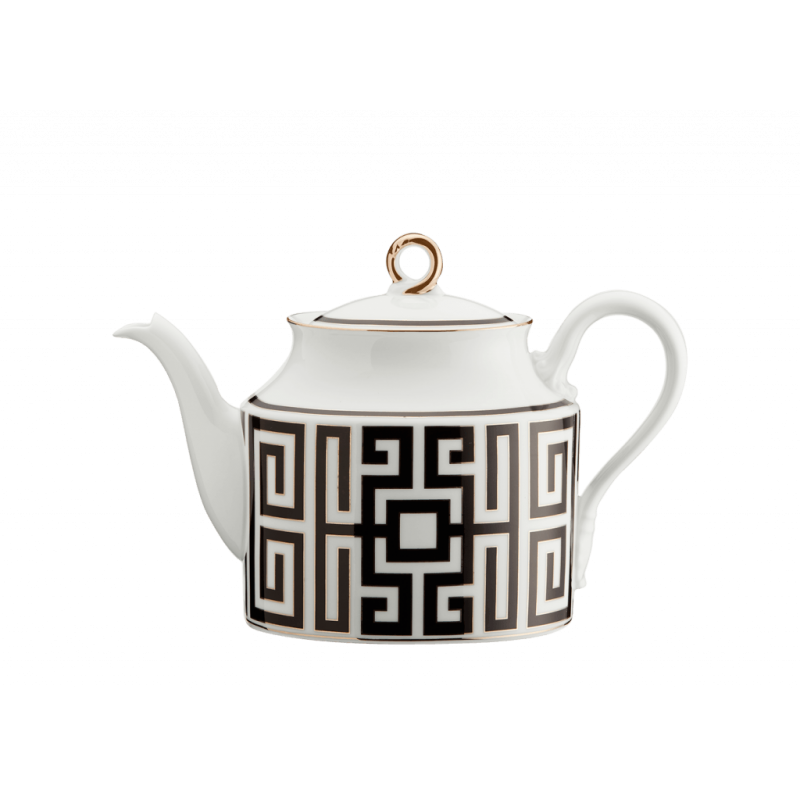 Labirinto Nero Tea Pot for 6