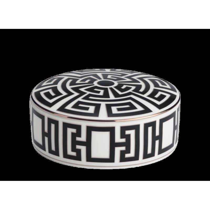 Labirinto Nero Round Box
