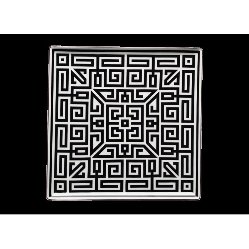 Labirinto Nero Trinket Tray Square