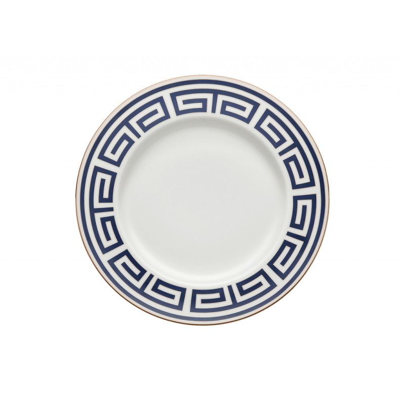 Labirinto Navy Dinner Plate - Set of 2