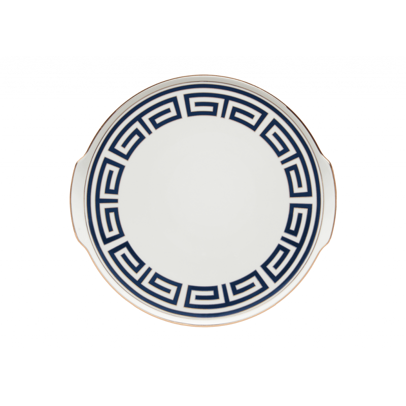 Labirinto Navy Cake Plate