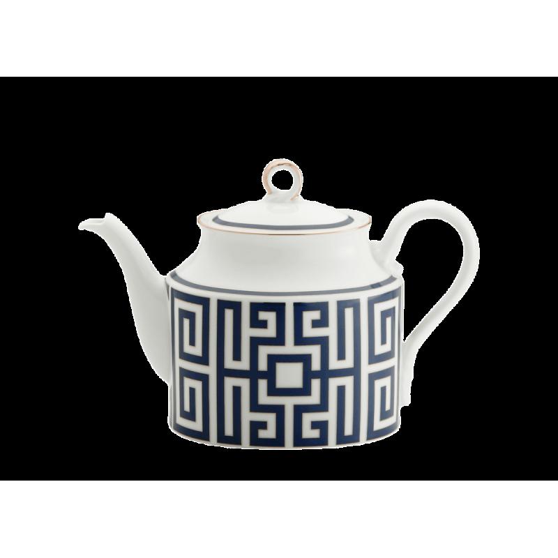Labirinto Navy Tea Pot