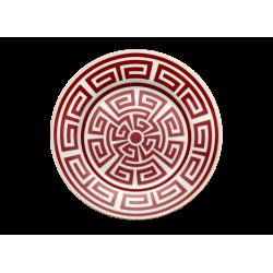 Labirinto Red Dessert plate...