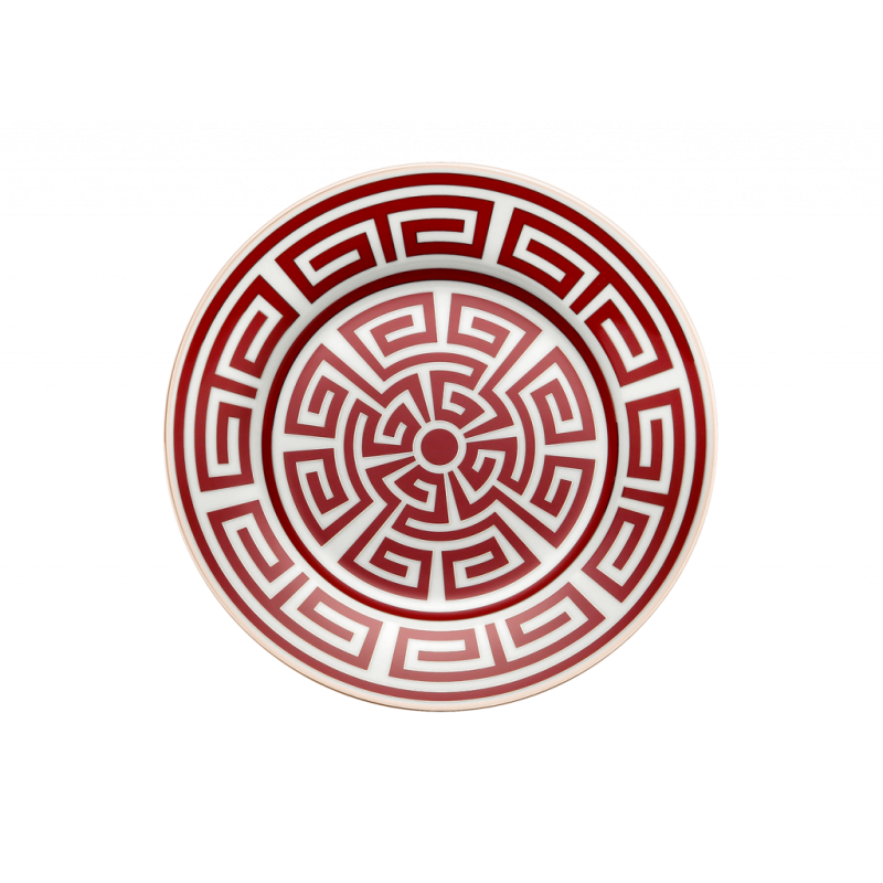 Labirinto Red Dessert plate - Set of 2