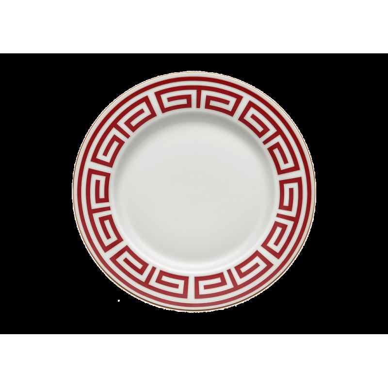 Labirinto Red Dinner Plate - Set of 2