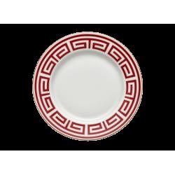 Labirinto Red Soup Plate -...