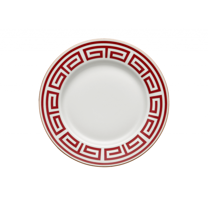 Labirinto Red Soup Plate - Set of 2