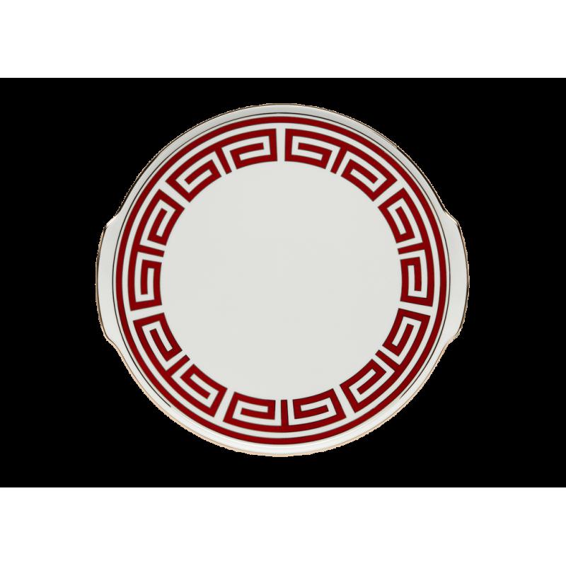 Labirinto Red Cake Plate