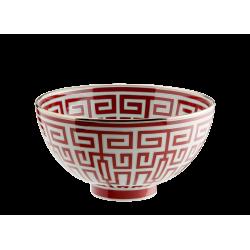Labirinto Red Gio Ponti Bowl