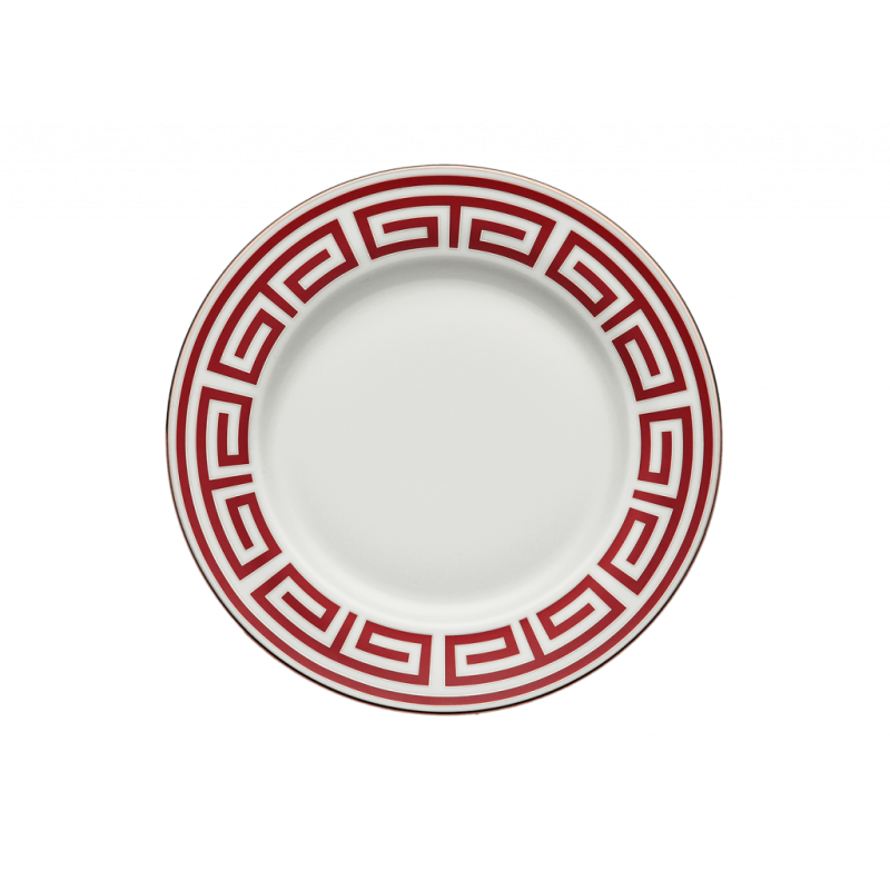 Labirinto Red Charger Plate