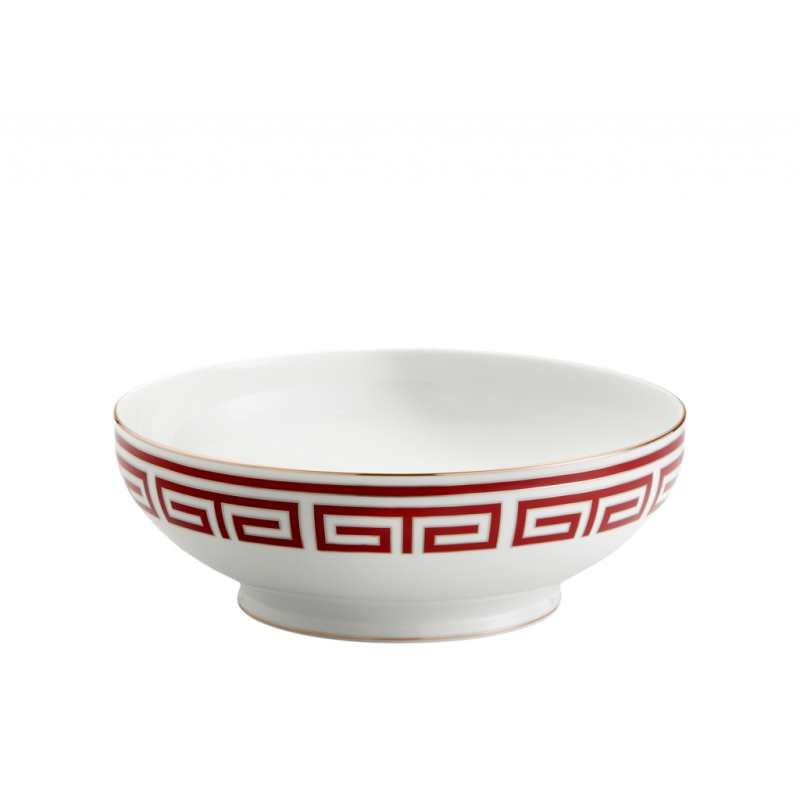 Labirinto Red Salad Bowl