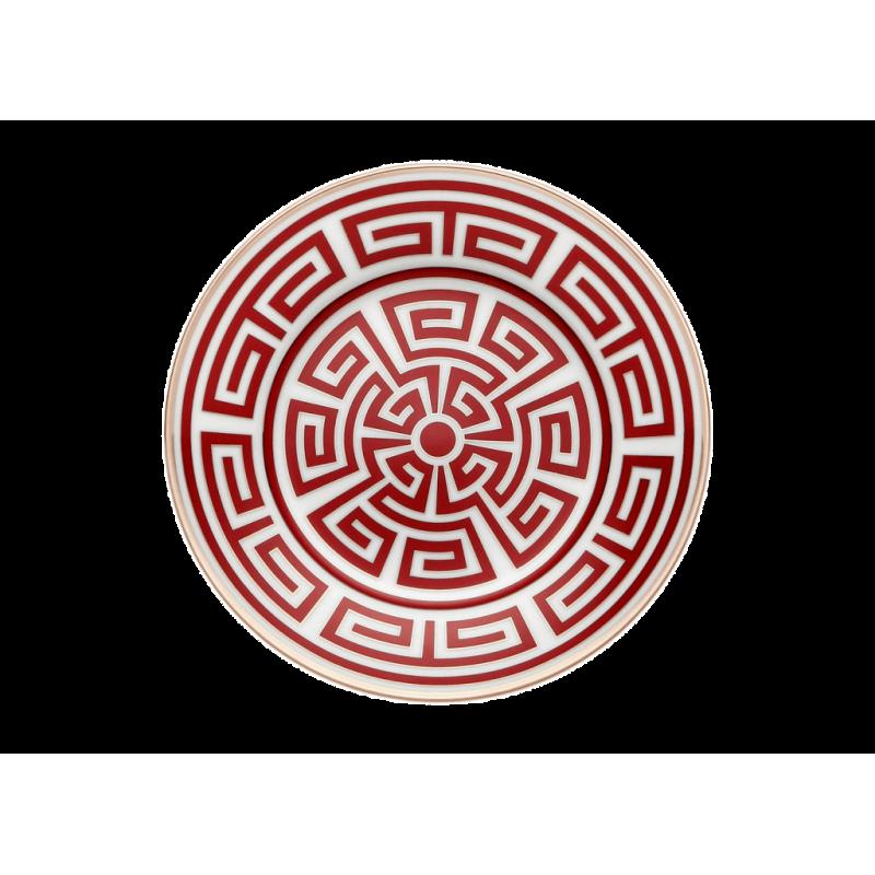 Labirinto Red Bread Plate