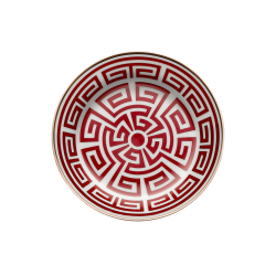 Labirinto Red Tea Saucer -...