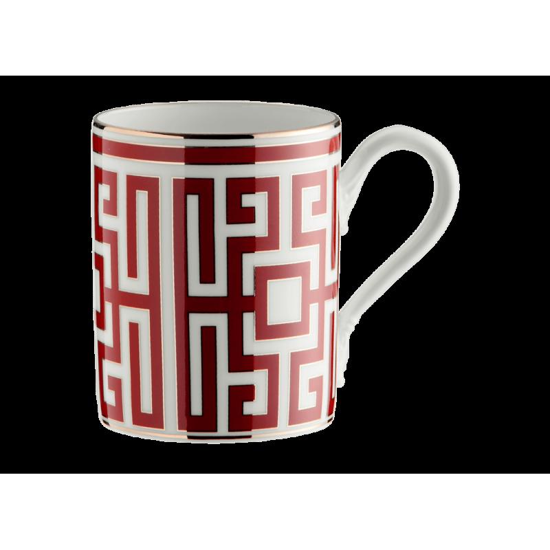 Labirinto Red Mug - Set for 2