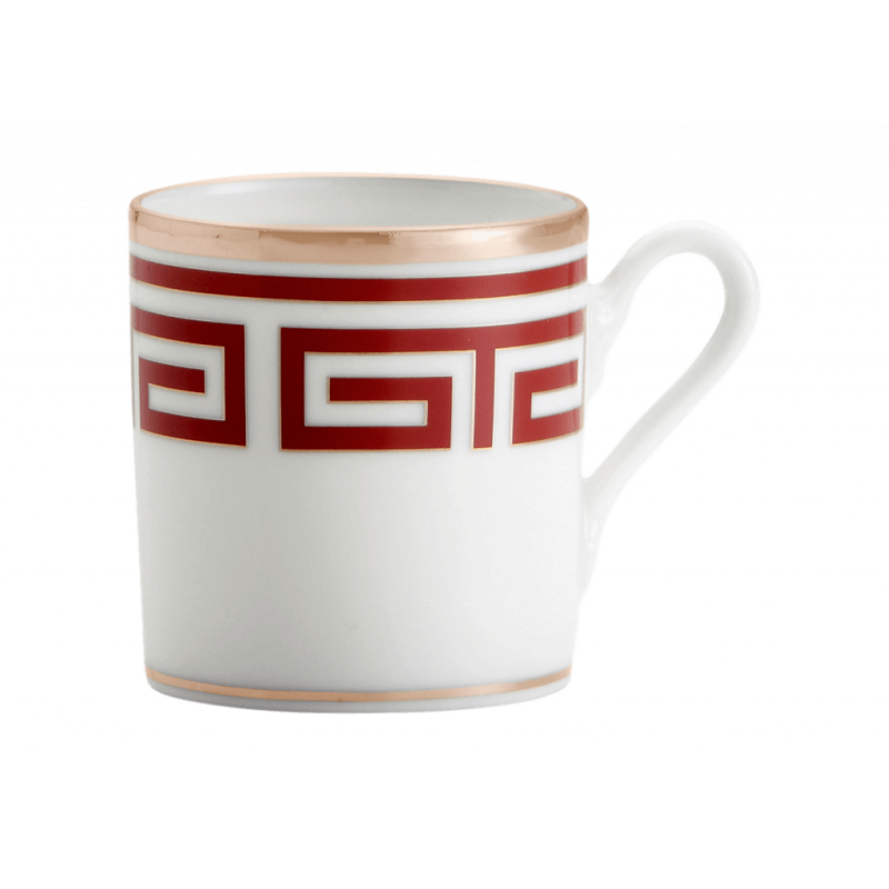 Labirinto Red Coffee Cup - Set of 2