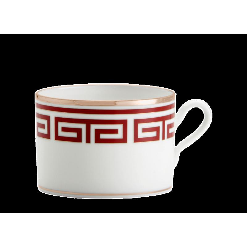 Labirinto Red Tea Cup - Set of 2