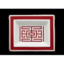 Labirinto Red Trinket Tray