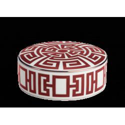 Labirinto Red Round Box