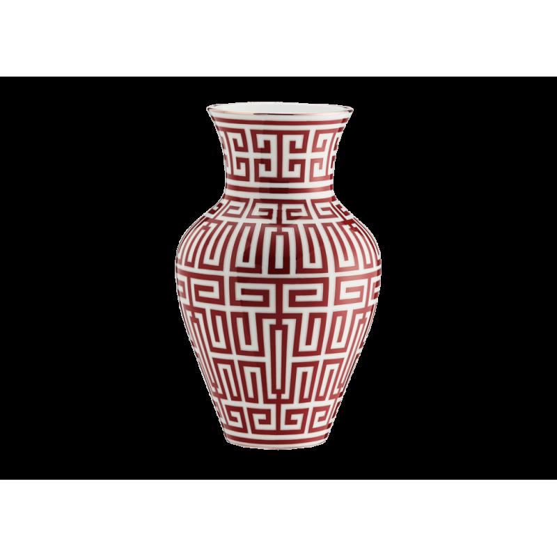 Labirinto Red Vase