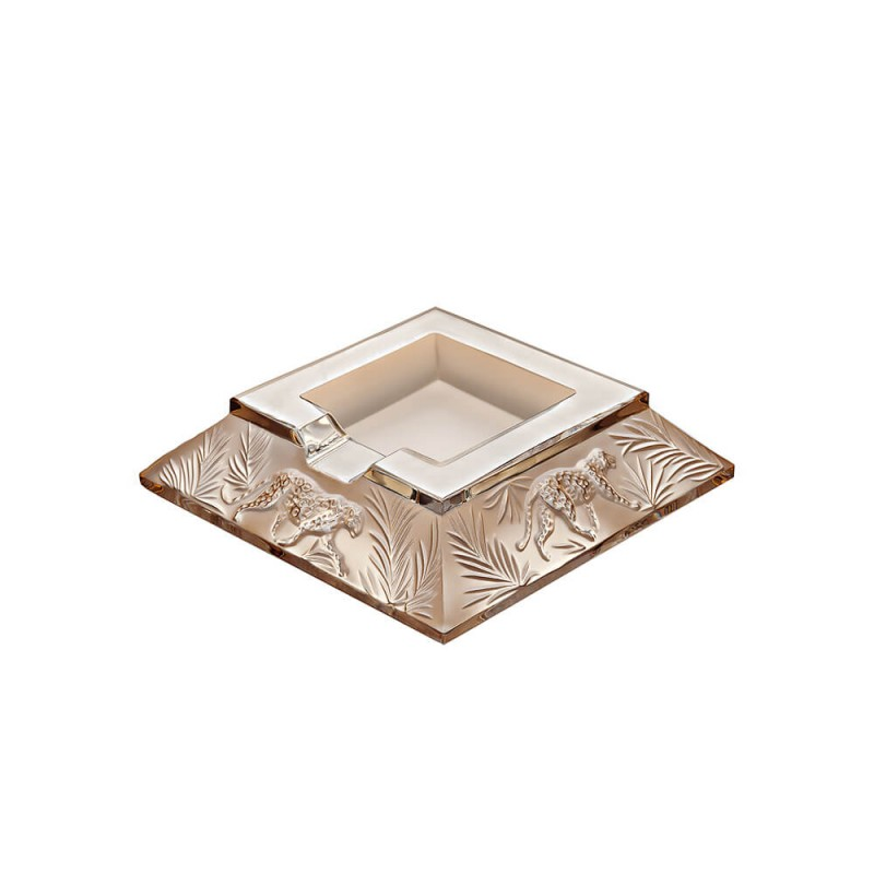 Jungle Ashtray Gold Luster