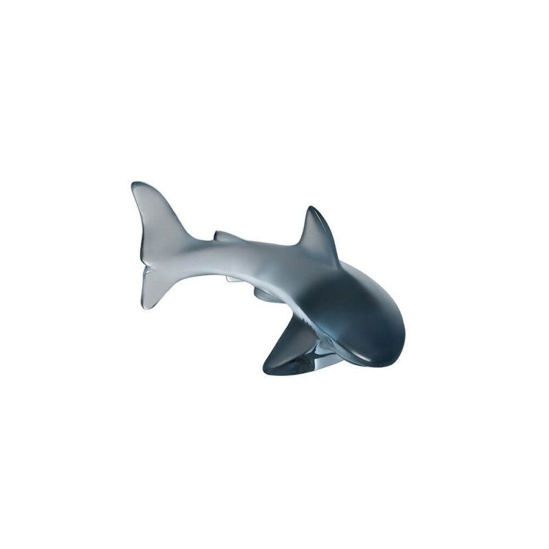 Shark Small Sculpture Persepolis Blue