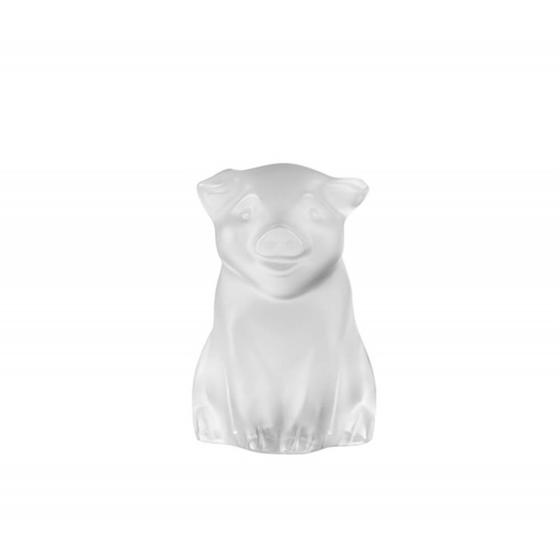 Pig Sculpture Clear