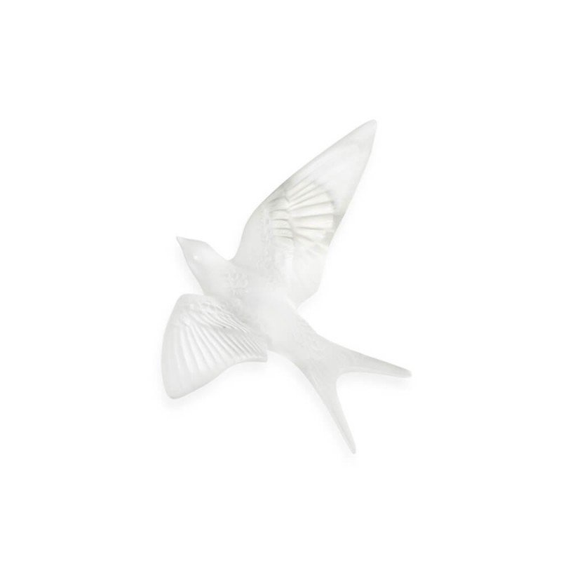 Swallow Wall Sculpture Clear