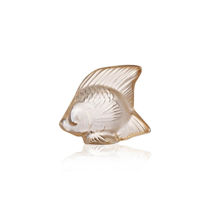 Fish Sculpture Gold Luster