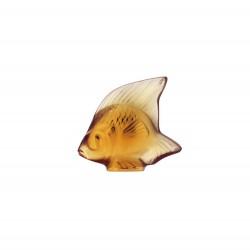 Fish Sculpture Amber