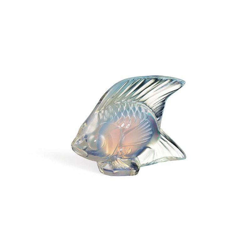 Fish Sculpture Opalescent Luster