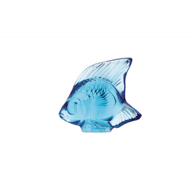 Fish Sculpture Pale Blue