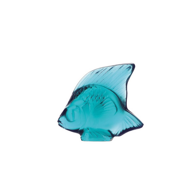 Fish Sculpture Pale Turquoise