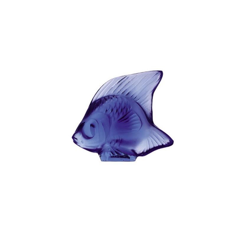 Fish Sculpture Sapphire Blue