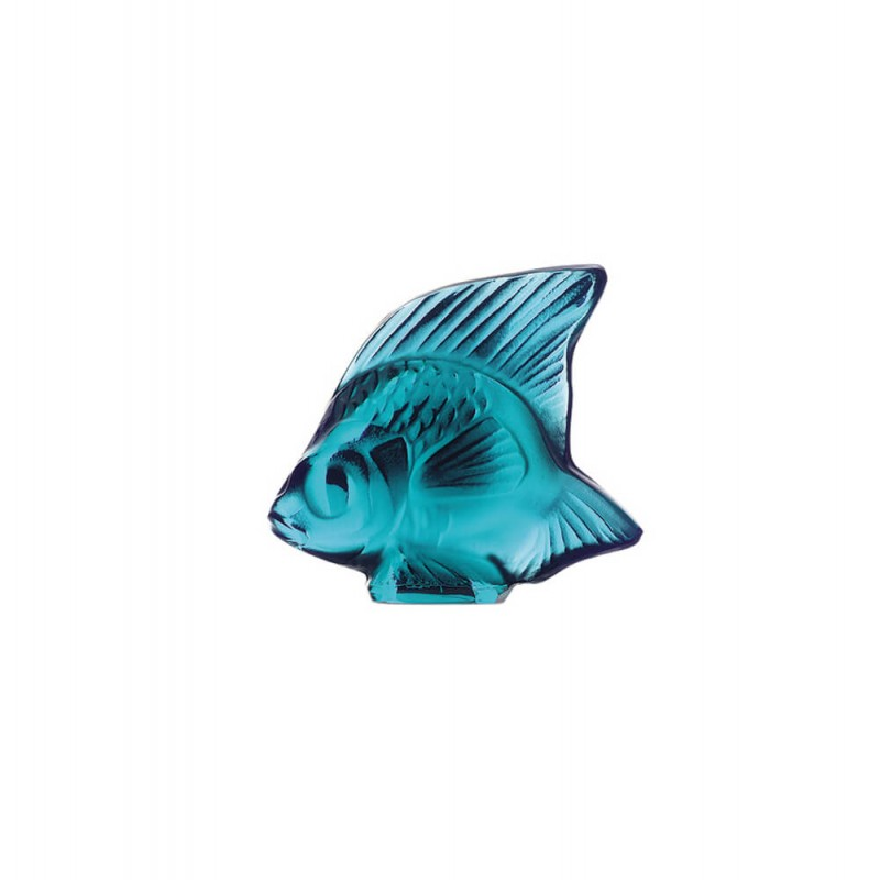 Fish Sculpture Turquoise