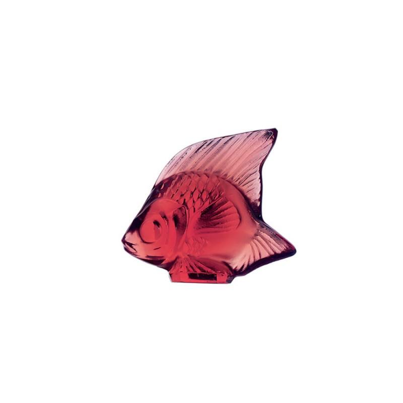 Fish Sculpture Golden Red