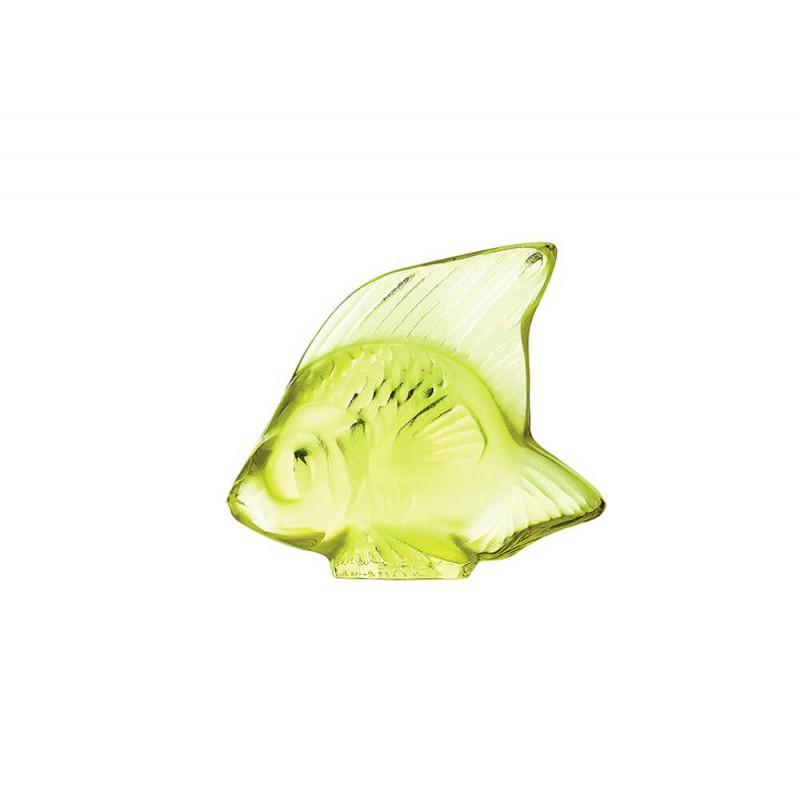 Fish Sculpture Anis Green
