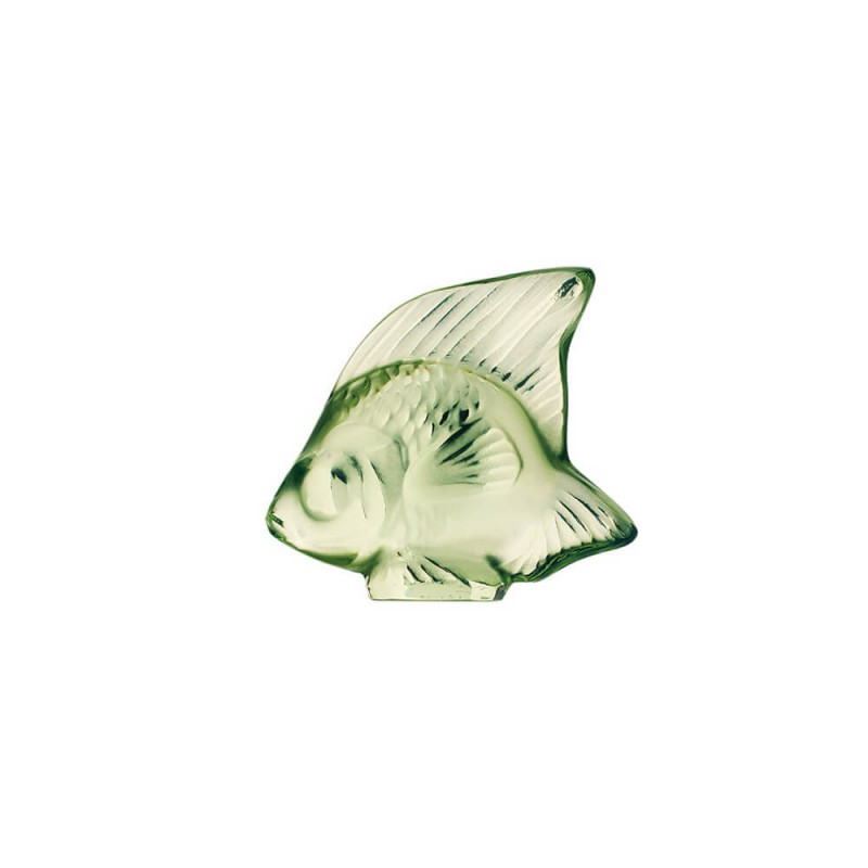 Fish Sculpture Light Green