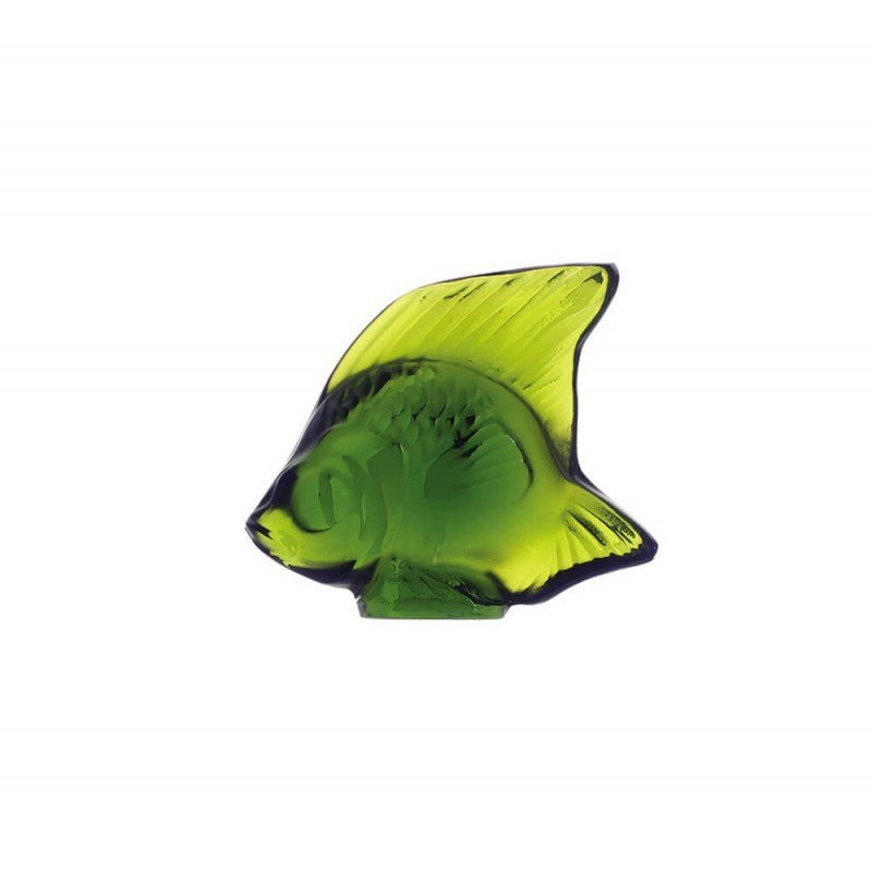 Fish Sculpture Lime Green