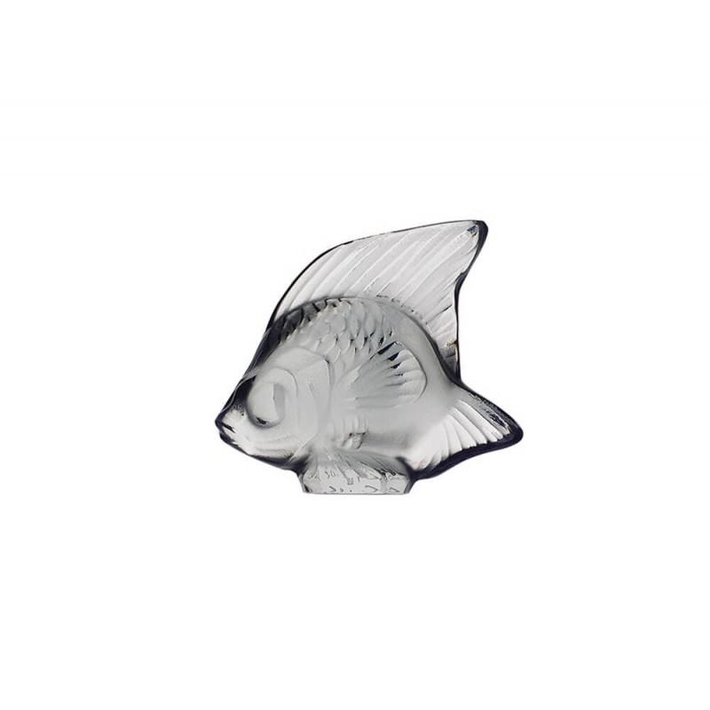 Fish Sculpture Grey