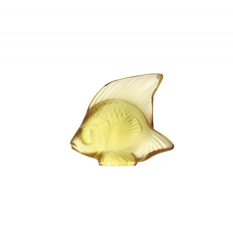 Fish Sculpture Yellow Gold