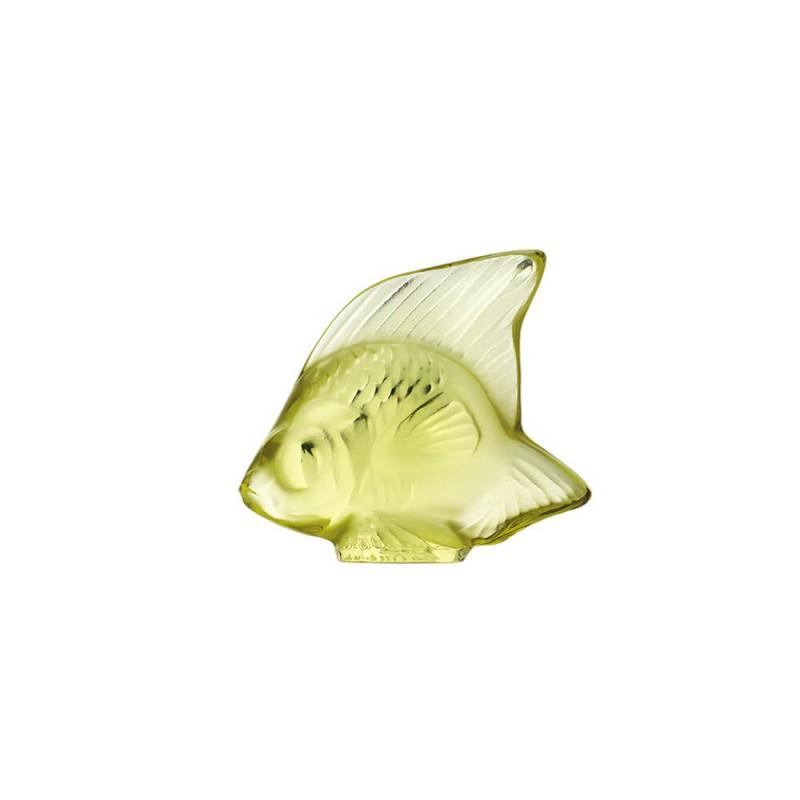 Fish Sculpture Yellow
