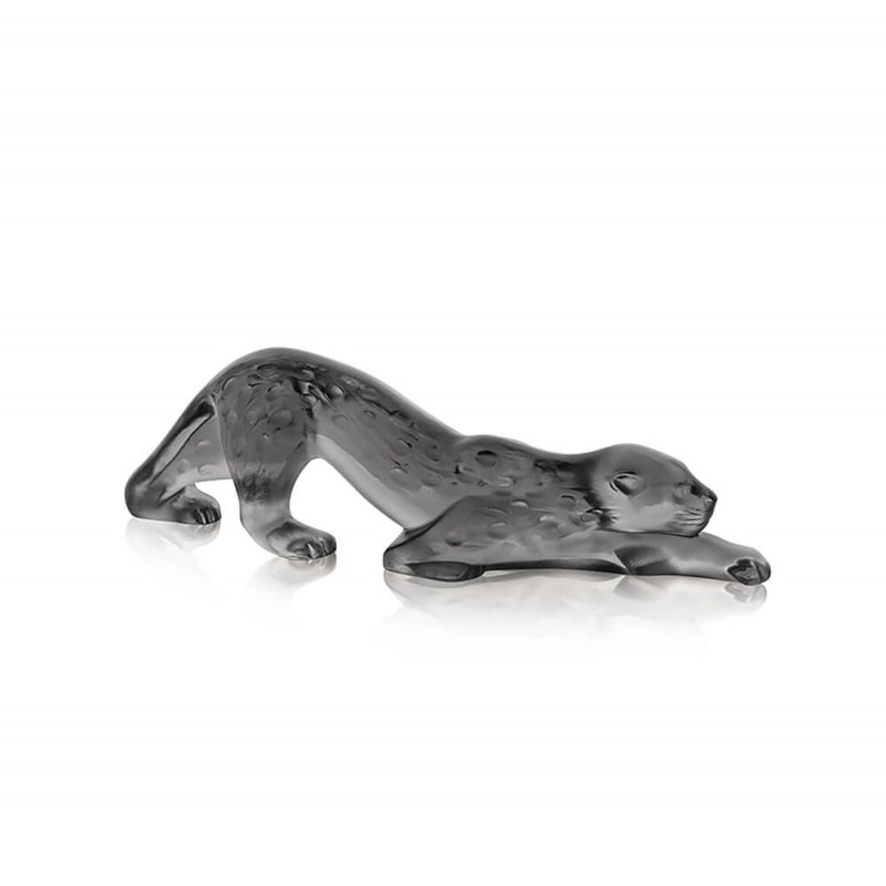 Zeila Panther Sculpture Small Size Grey