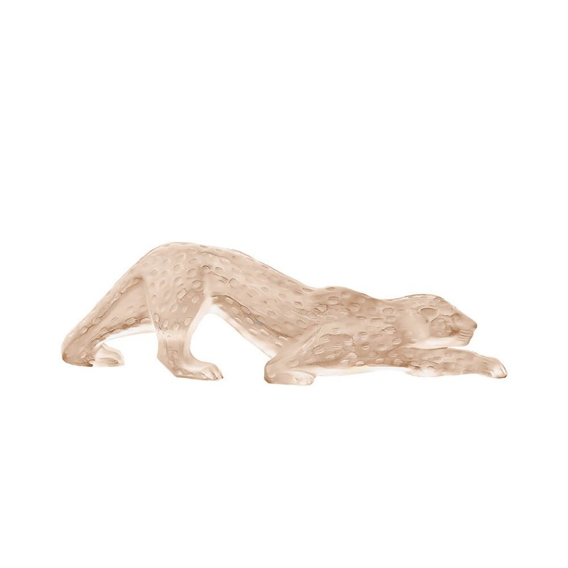 Zeila Panther Sculpture Large Gold Luster